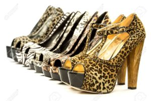 Fashion With some animal print heels